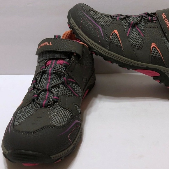 33512caf49 Merrell Girls Trail Chaser Sz 7 Big Kids Gray Gray